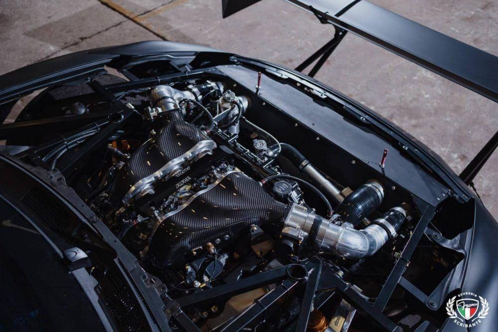 Moteur Nissan GT-R de Franco Scribante Racing