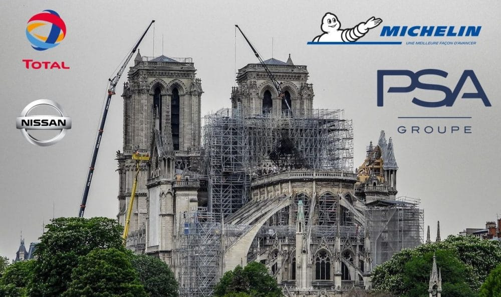 Donations pour Notre-Dame de Paris, version automobile