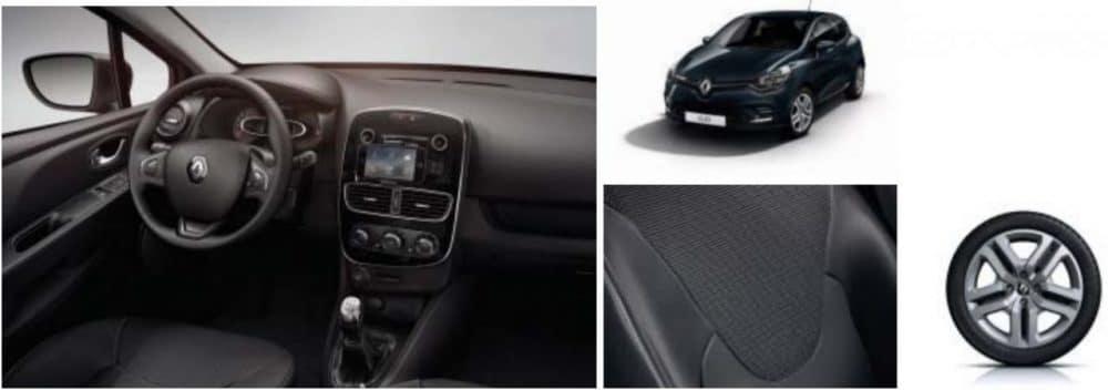 Equipements Renault Clio Génération