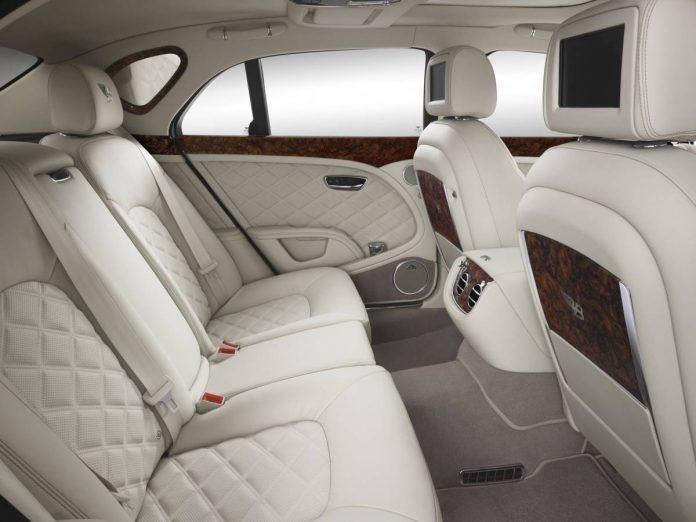 Bentley sièges Vegan