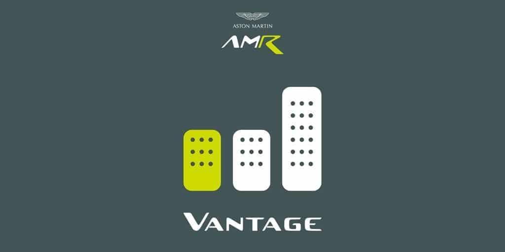Teaser Aston Martin Vantage AMR manuelle