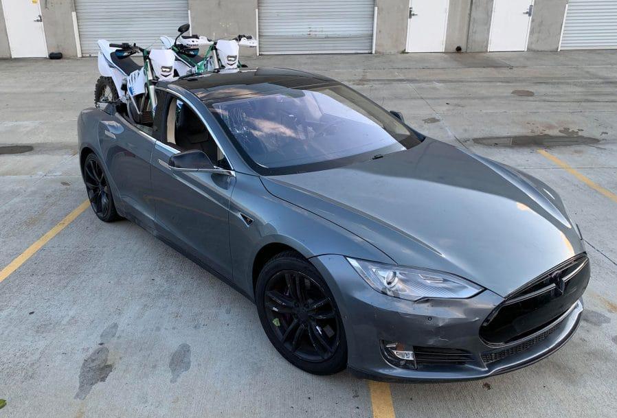 Tesla Model S pickup