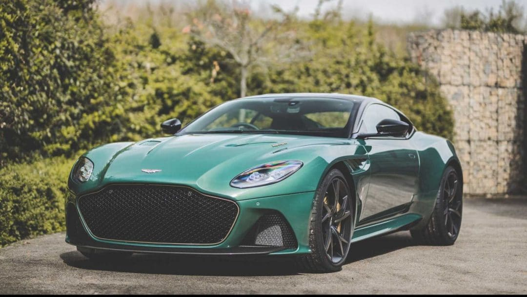 Aston Martin DBS 59 Superleggera commandée par Cambridge