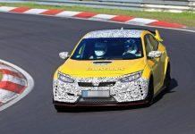 Honda Civic Type R en test au Nürburgring