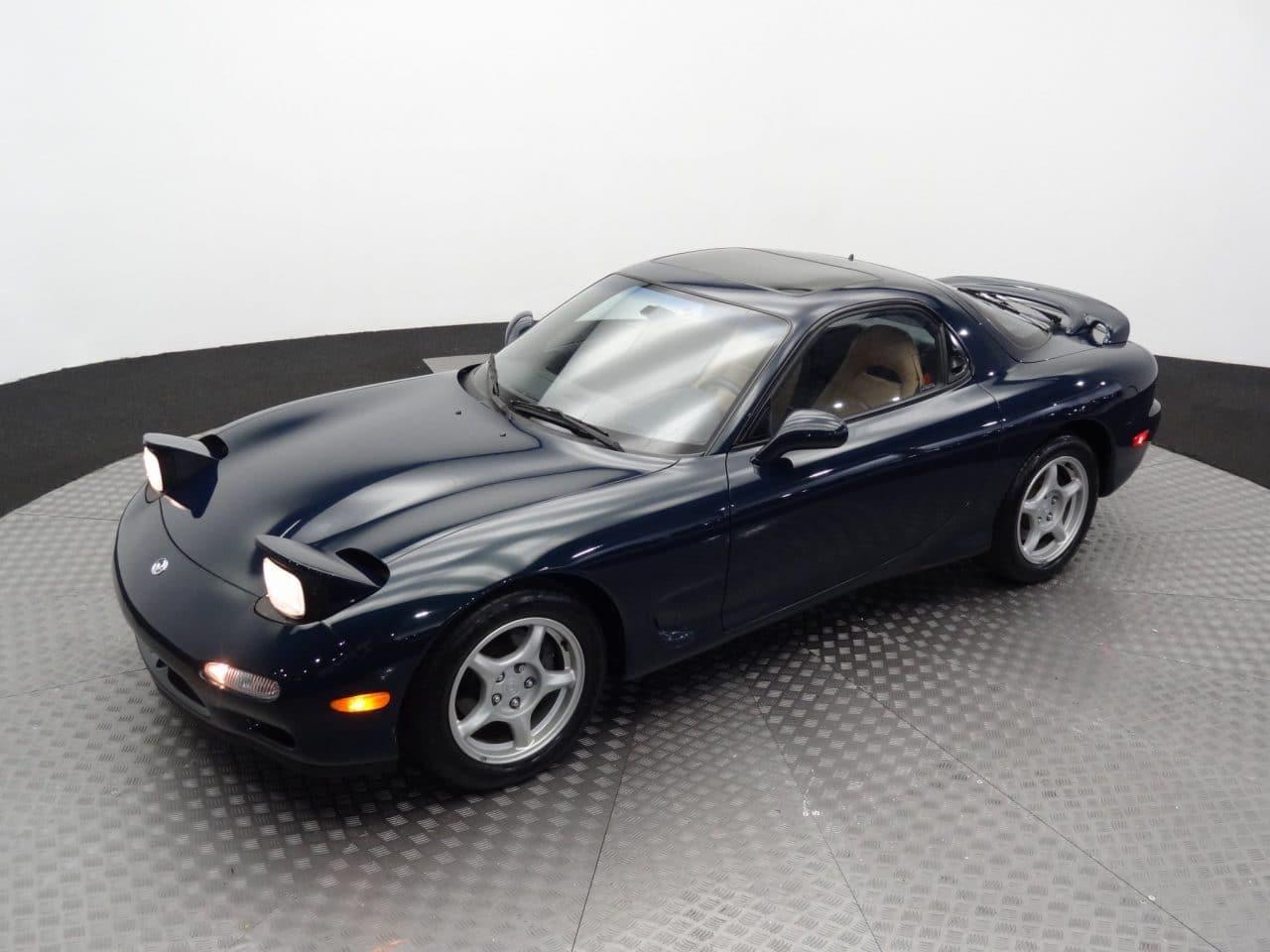 Mazda RX-7 vendue 70 000 dollars aux enchères