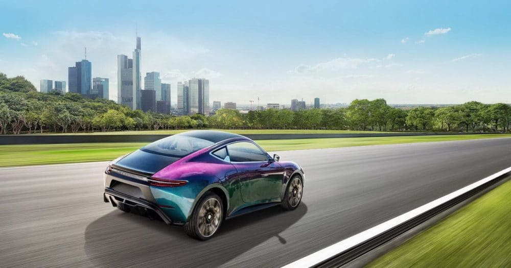 Concept électrique : Zedriv GT3