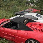 11 Ferrari abandonnées