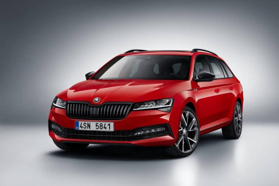 Skoda Superb restylée