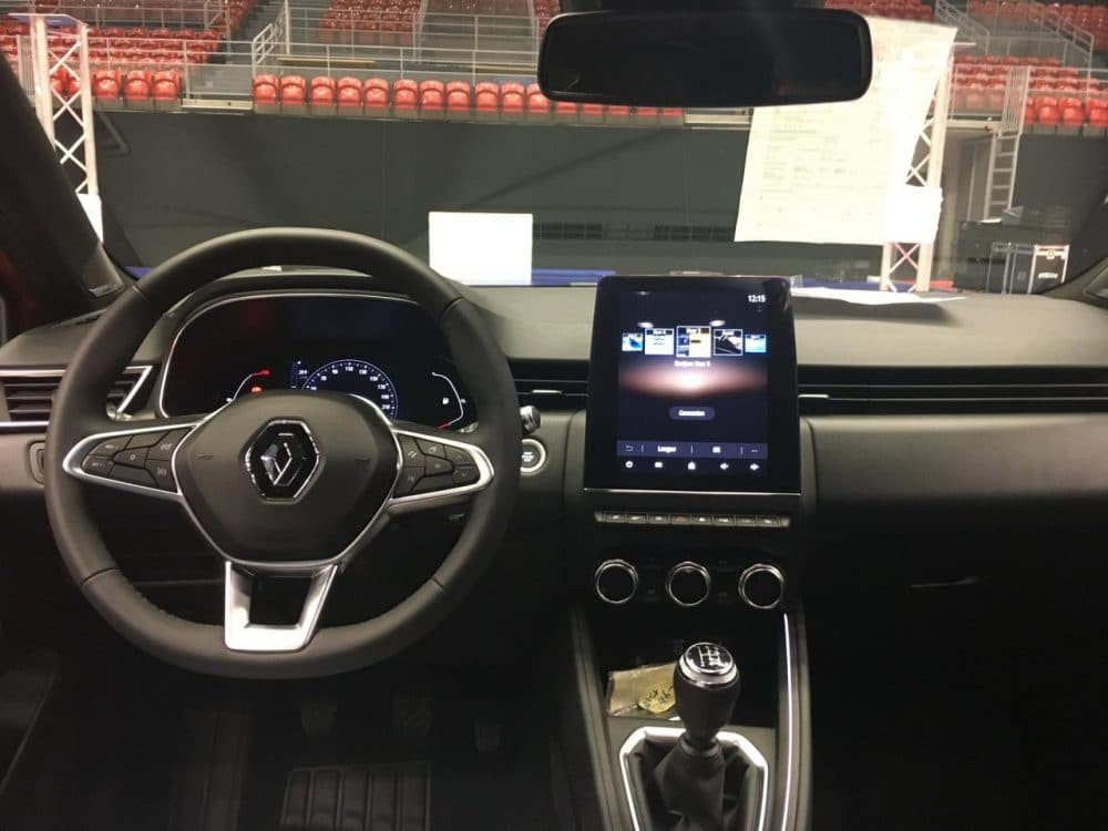 Renault Clio 5 RS Line habitacle interieur