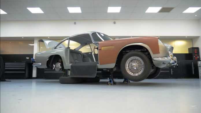 La DB5 de James Bond Goldfinger
