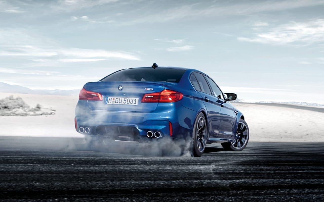 BMW M5 xDrive mode propulsion
