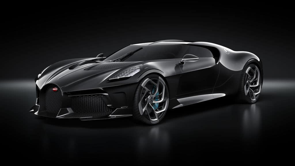Cristiano Ronaldo aurait acheté la Bugatti La Voiture Noire