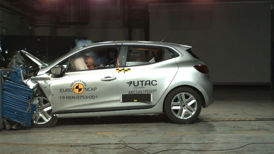 Crash test Clio