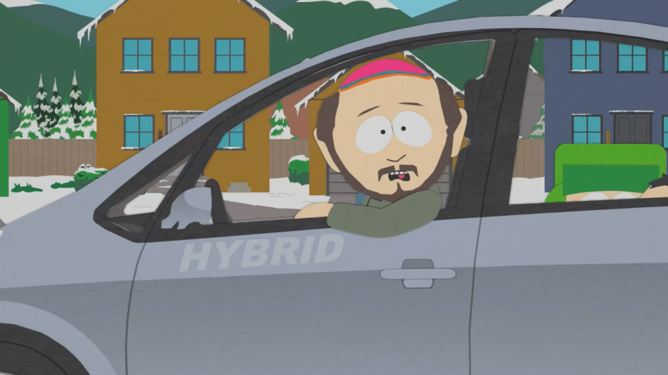 Hybride South Park malus