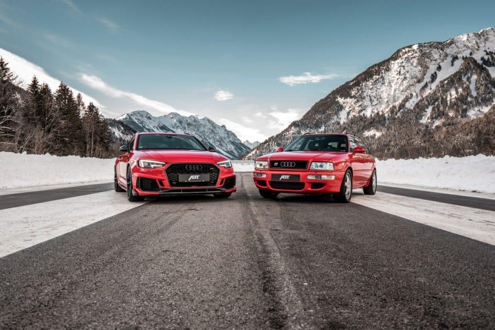 Audi RS2 et RS4 Avant par ABT Sportsline