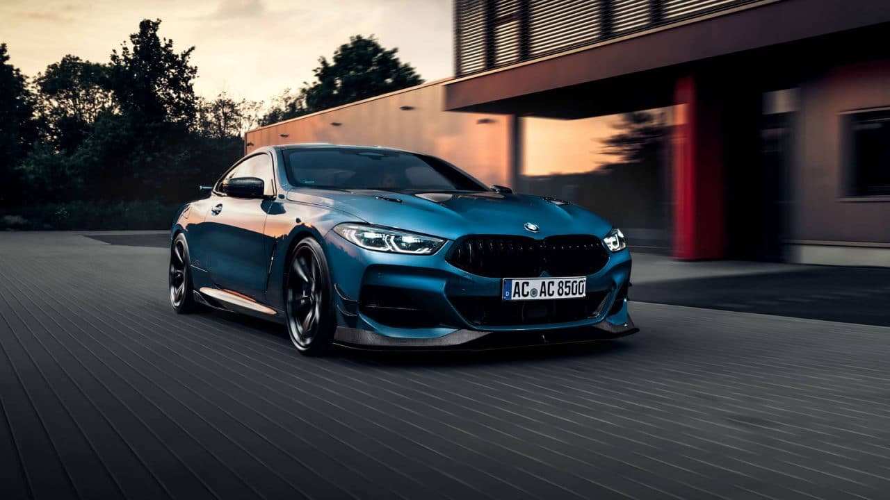 BMW M850i par AC Schnitzer