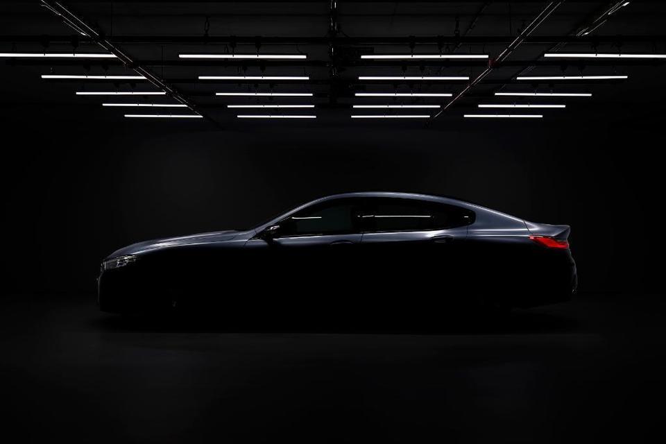 BMW Série 8 Gran Coupe teaser