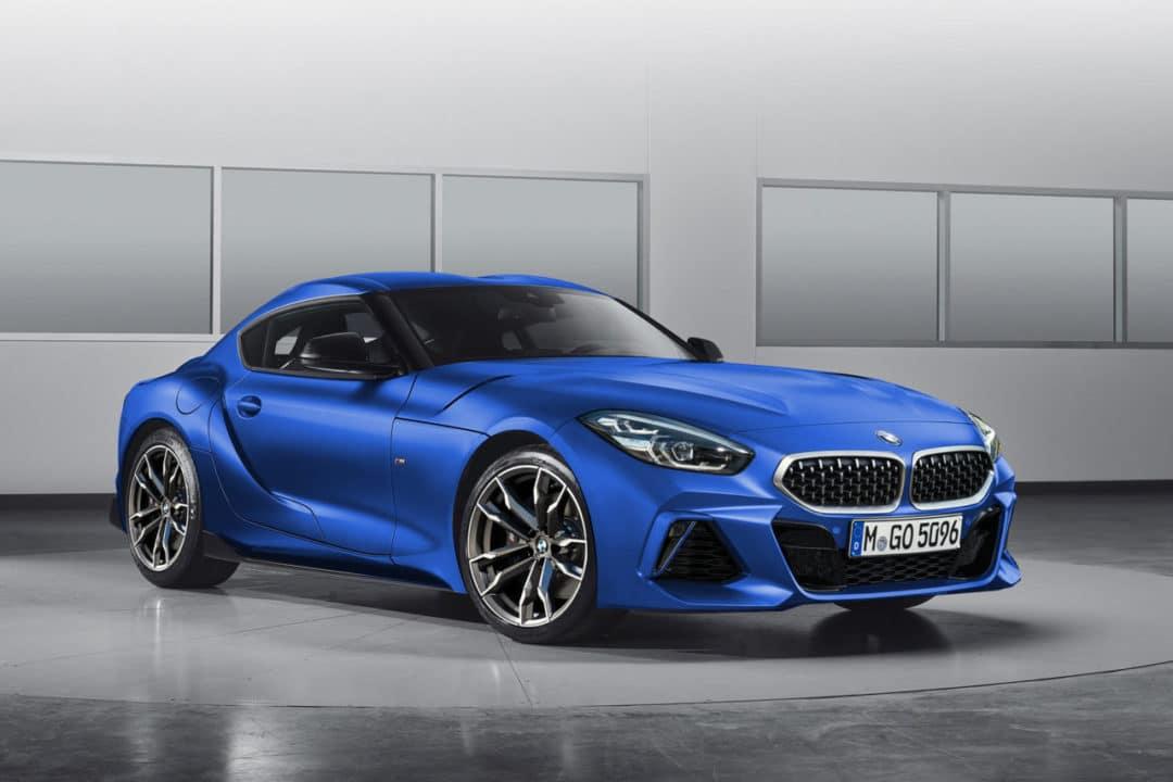 BMW Z4 (2019) boîte manuelle