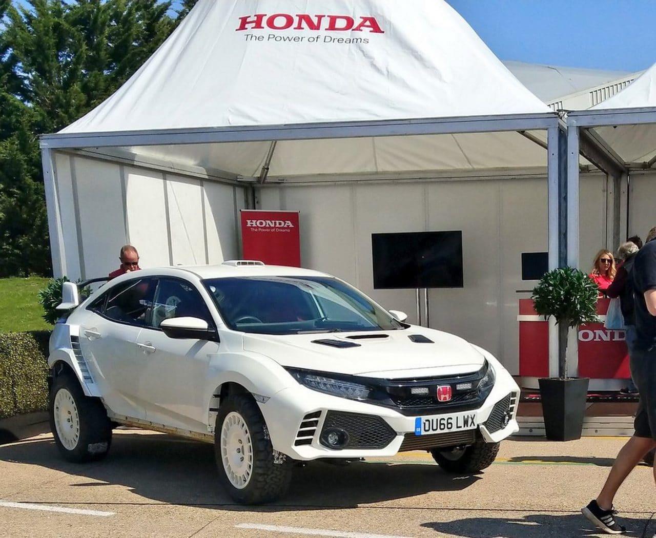 Honda Civic Type R modifiée