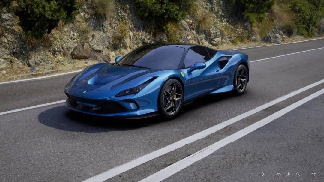 Configurez votre Ferrari F8 Tributo