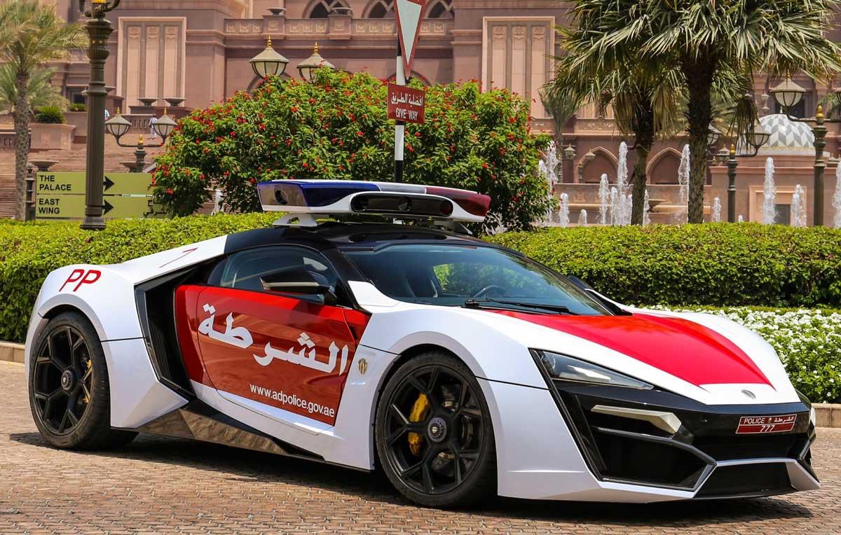 Police de Dubaï : La Lykan Hypersport rejoint la flotte !