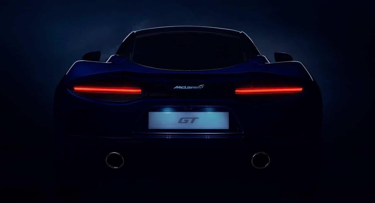Tesaer de la nouvelle McLaren GT