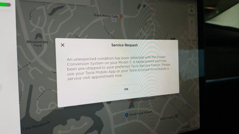 Tesla contrôle l'état de certaines pièces