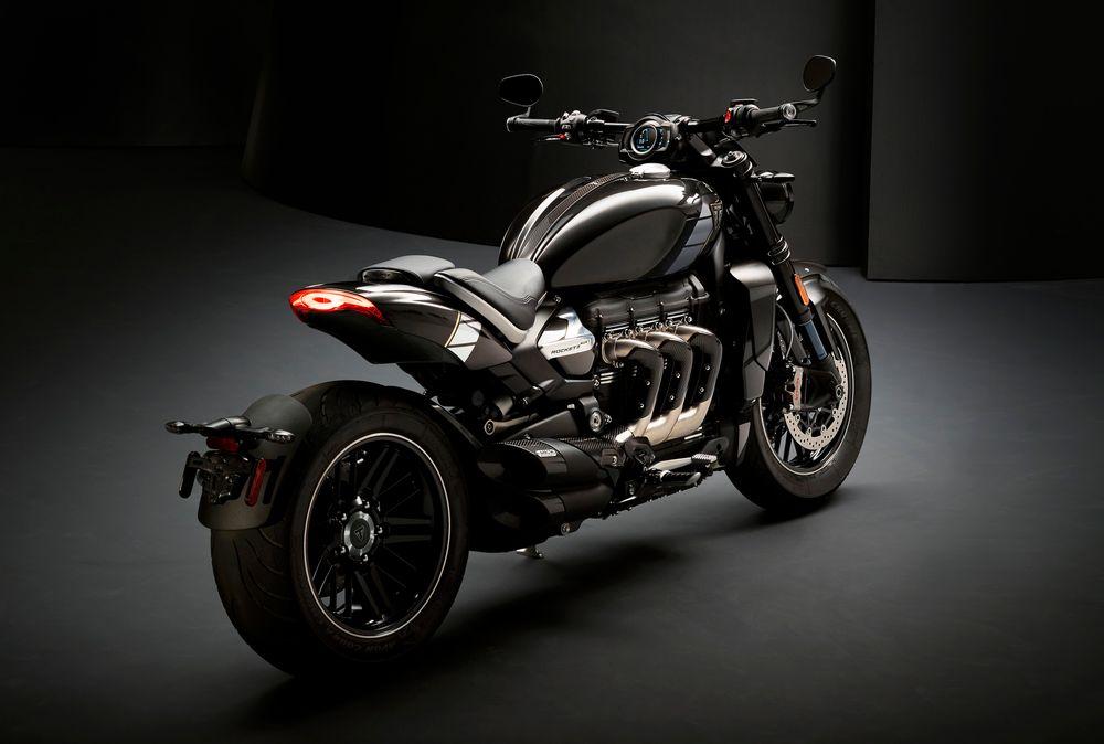 La Derniere Moto De Triumph Embarque Un 3 Cylindres En Ligne