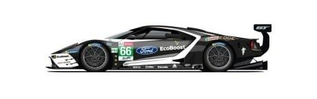 Ford GT N°66 24h du Mans 2019