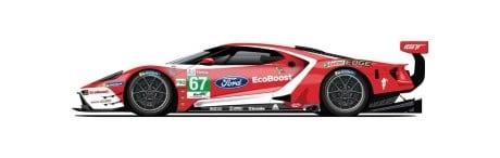 Ford GT N°67 24h du Mans 2019