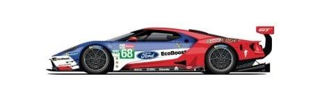 Ford GT N°68 24h du Mans 2019