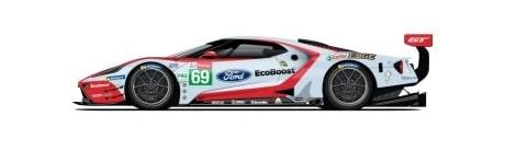 Ford GT N°69 24h du Mans 2019