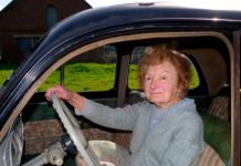 Au volant à 95 ans