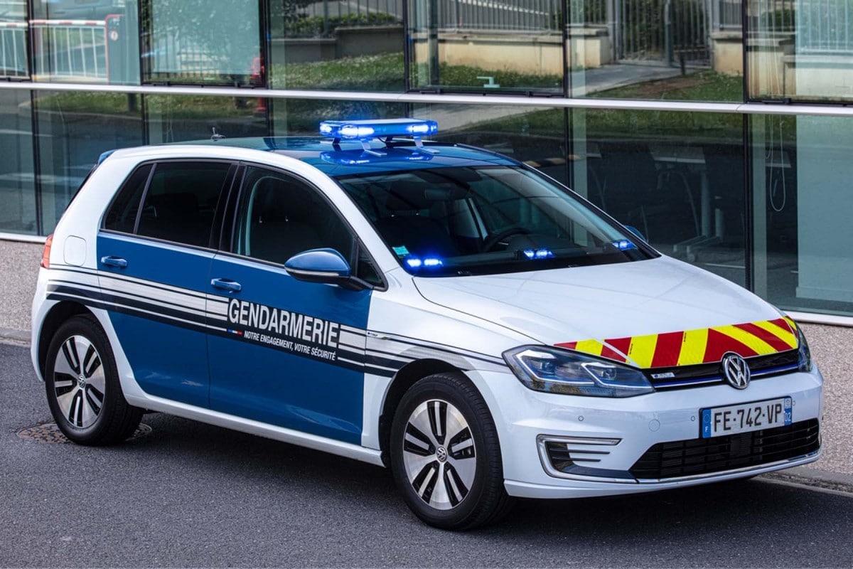 Volkswagen e-Golf gendarme