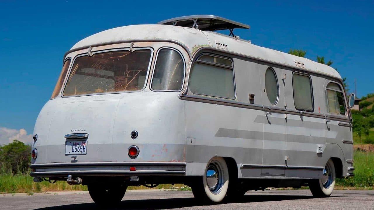 Porsche camping-car