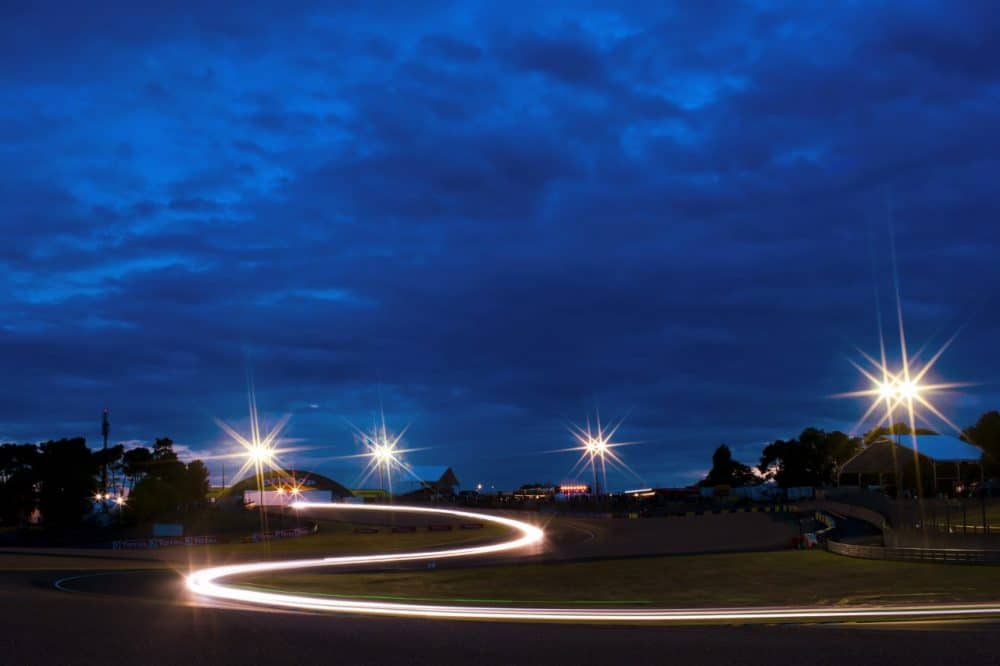 Les 24 heures du Mans la nuit