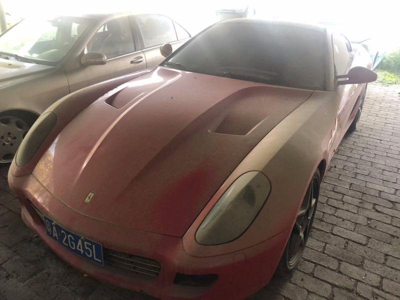 Enchères Ferrari 599