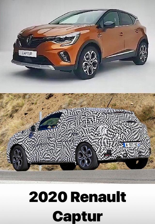 Renault Captur fuite