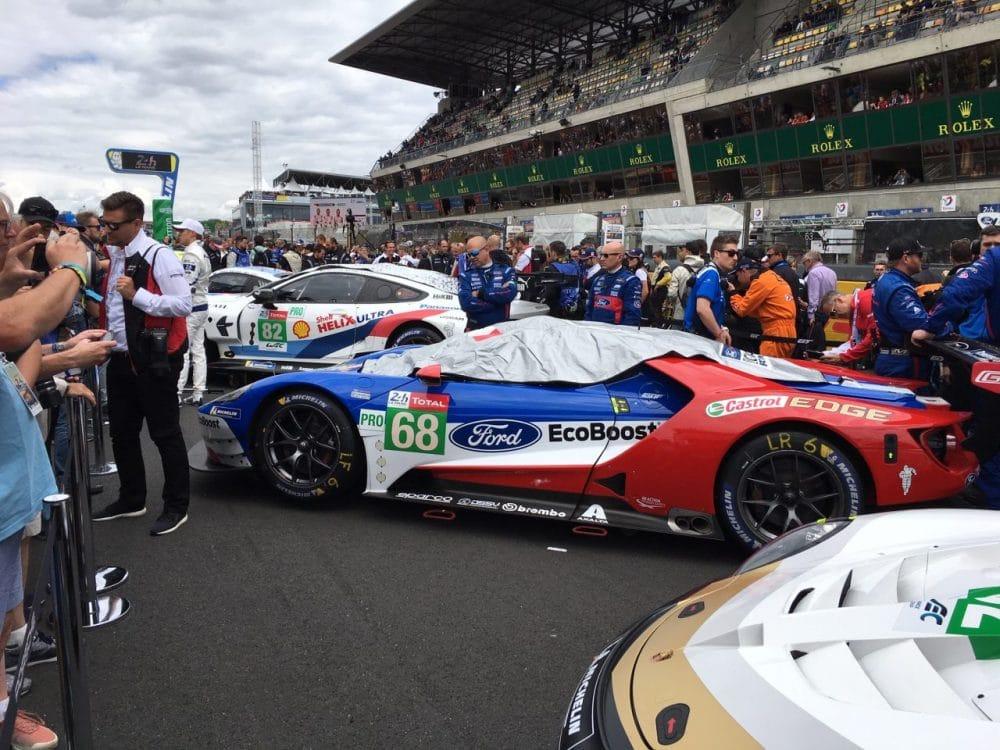 grid walk des heures du Mans (2019)