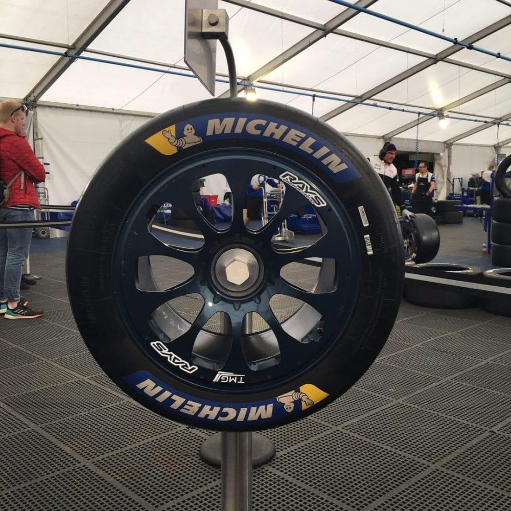Pneus slick / Michelin Tour - 24 heures du Mans