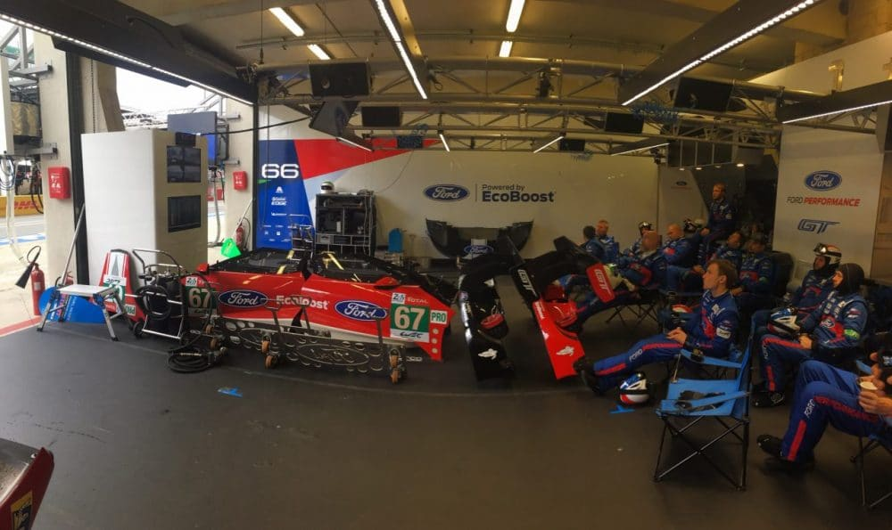 Stand Ford n°66/n°67 aux 24 heures du Mans
