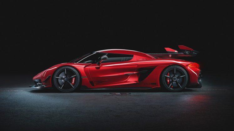Koenigsegg Jesko Red Cherry Edition