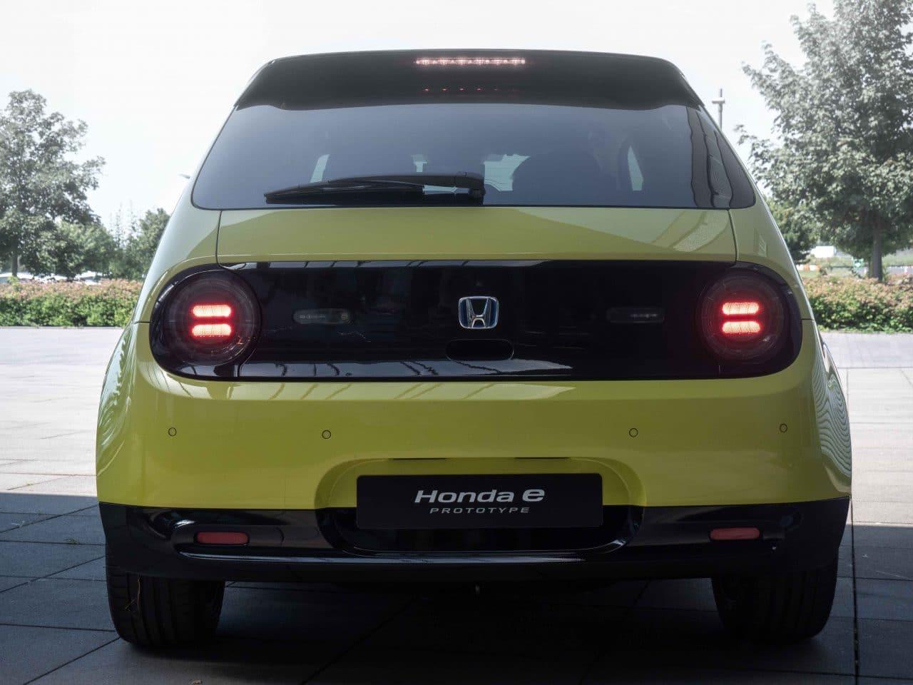 Honda e essai