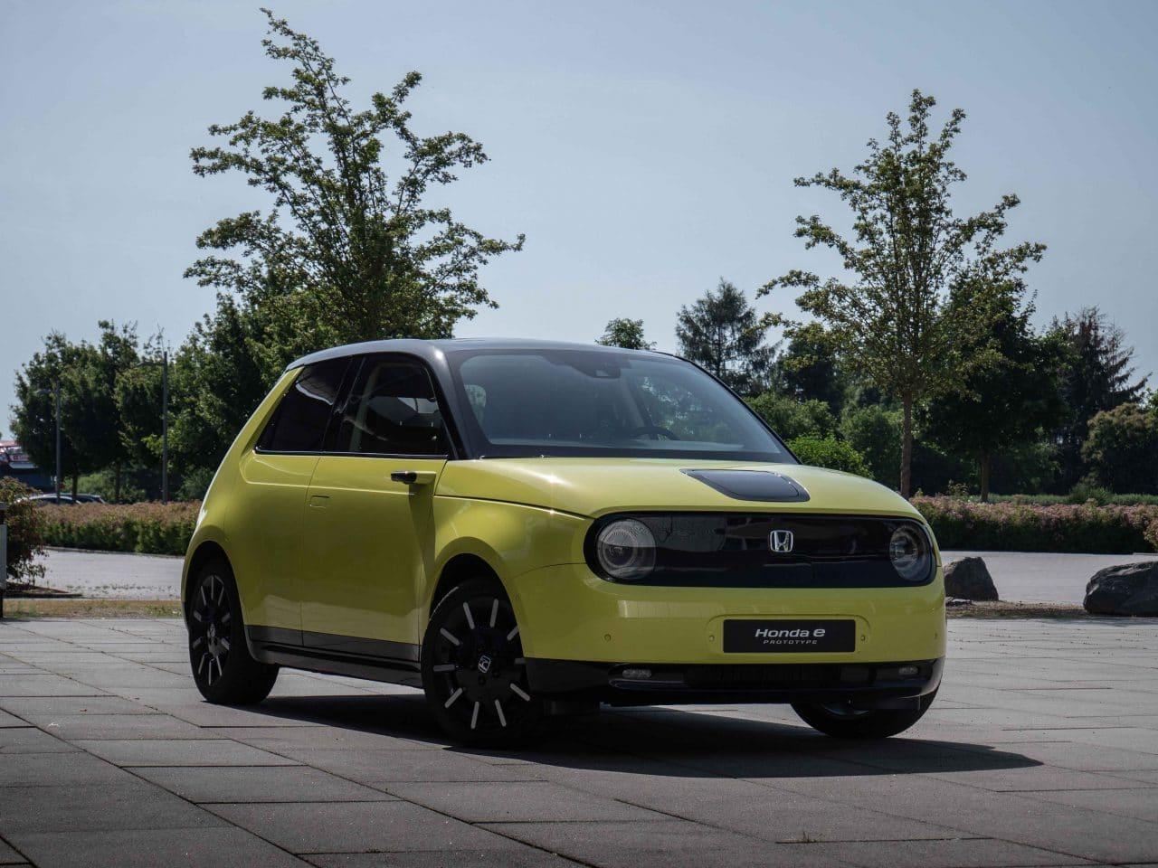 Voitures électriques en 2020 : Honda e