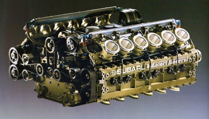 Subaru 12 Cylindres
