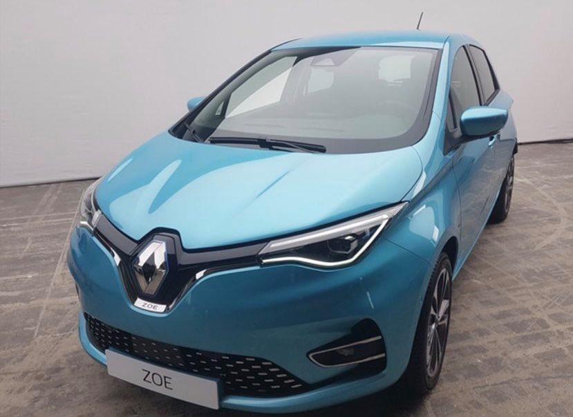Nouvelle Renault Zoé