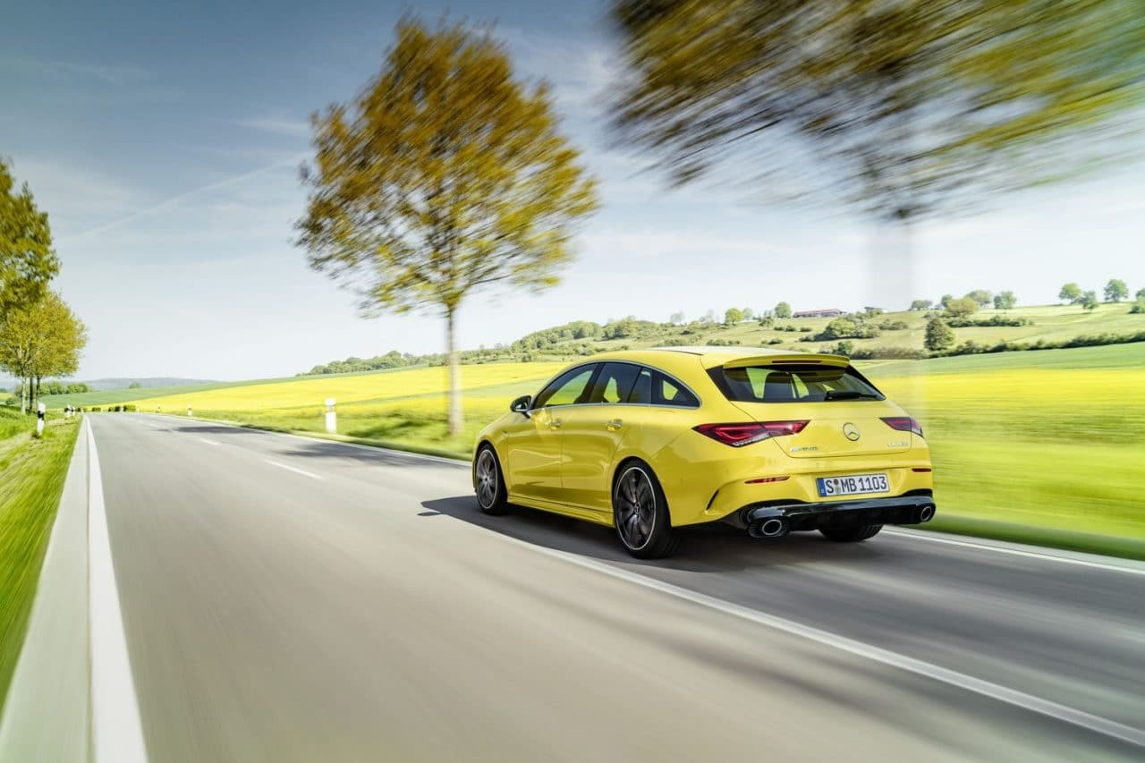 2019 Mercedes CLA 35 AMG Shooting Brake