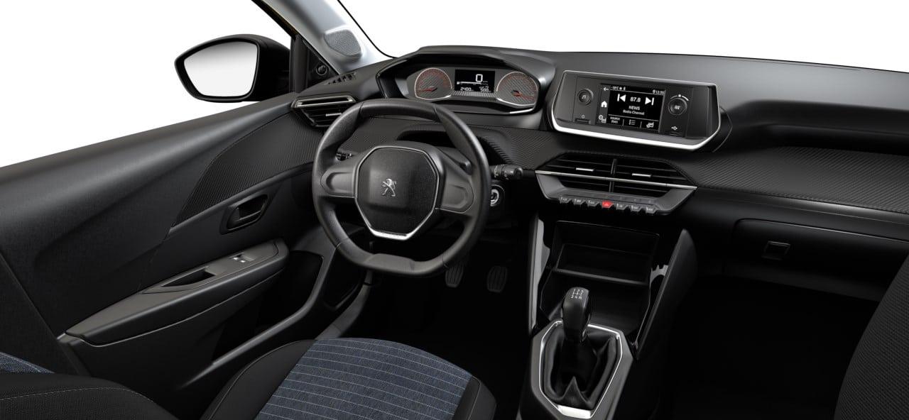 Entrée gamme Peugeot 208
