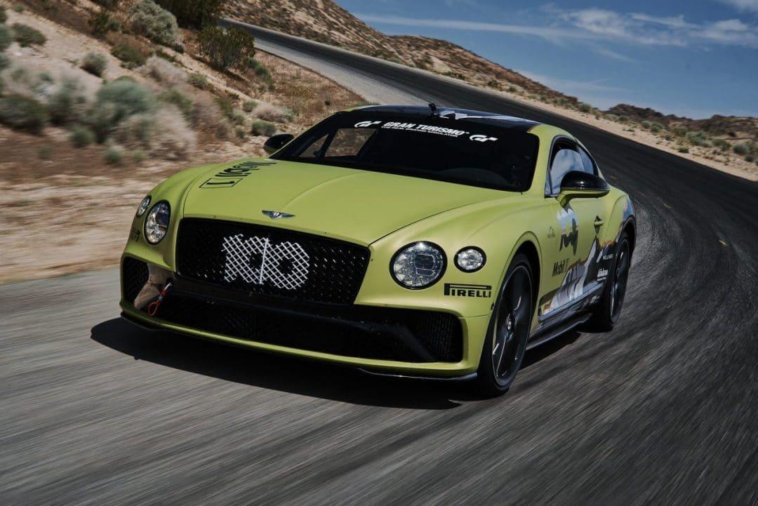 Bentley vise un record à Pikes Peak avec une Continental GT