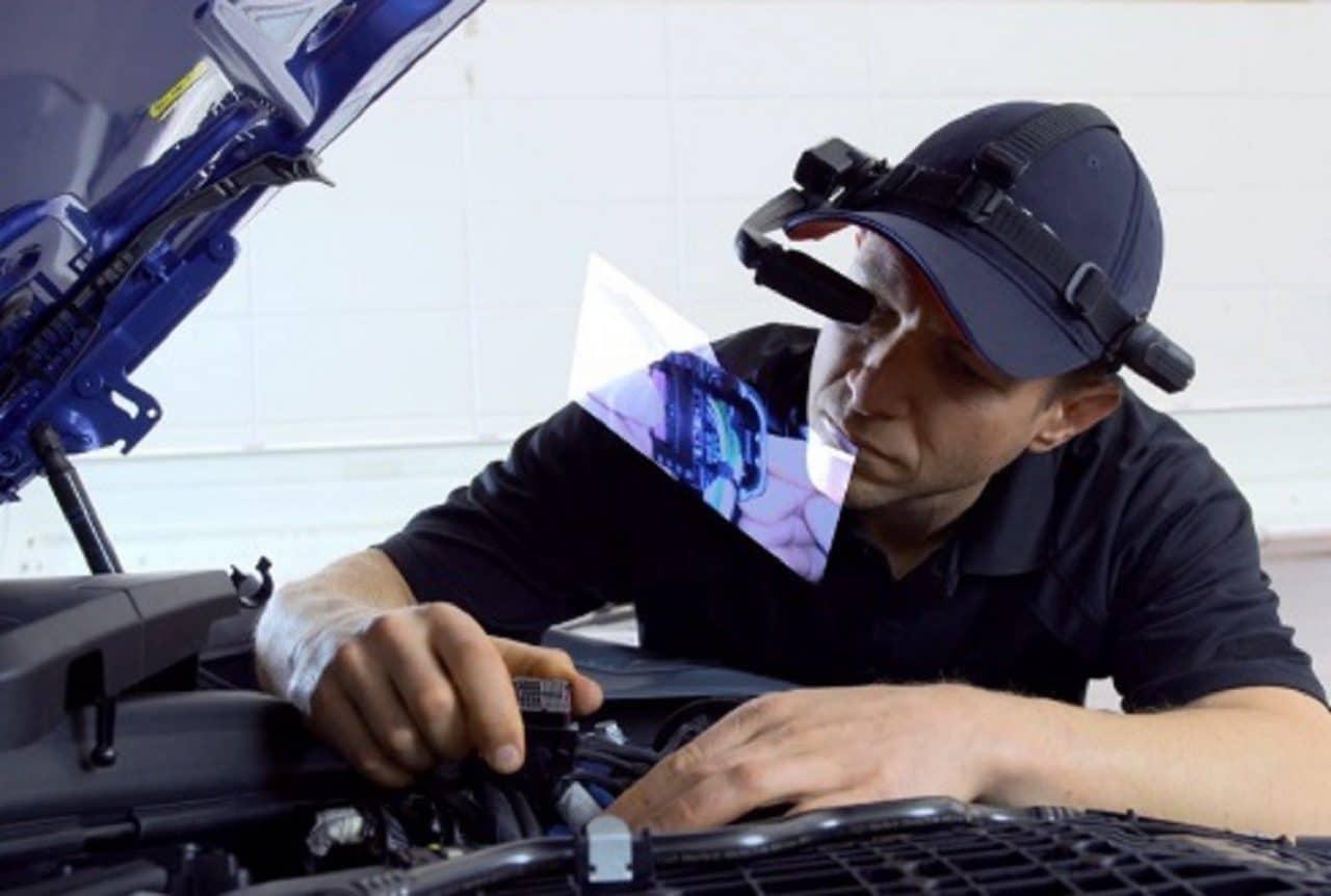 Lunettes intelligentes BMW